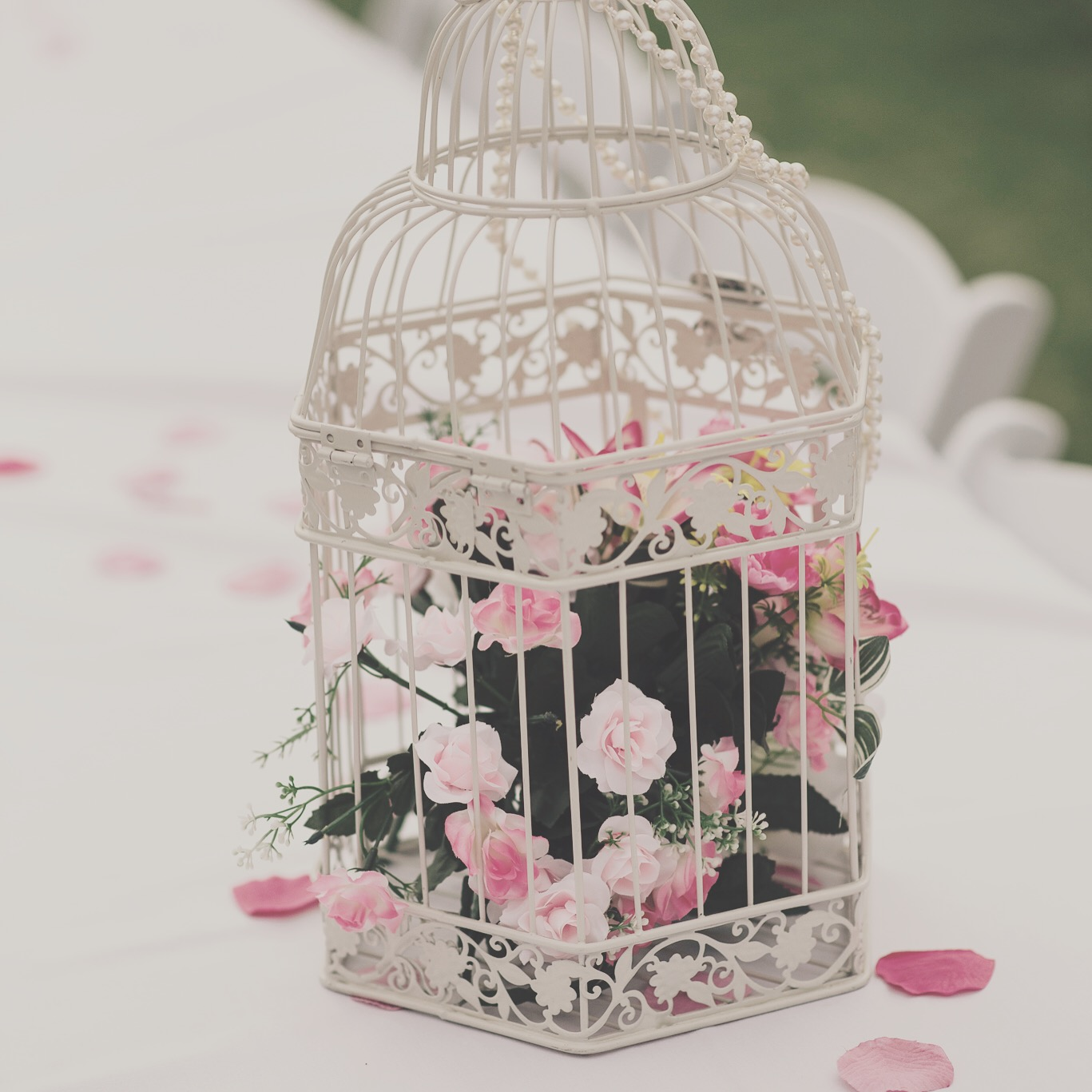 Wishing Wells & Bird Cages